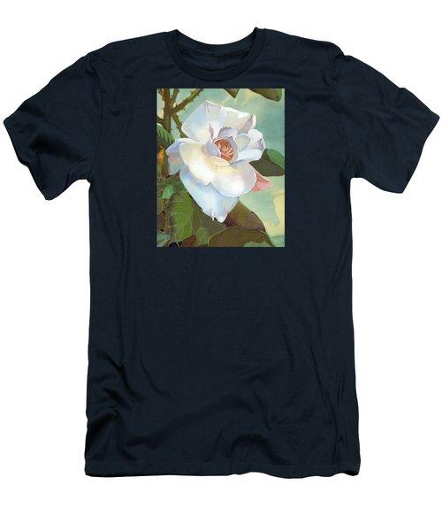 Unicorn In The Garden Men's T-Shirt (Slim Fit) by J L Meadows