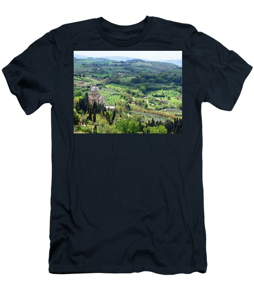 Madonna Di San Biagio Men's T-Shirt (Athletic Fit)