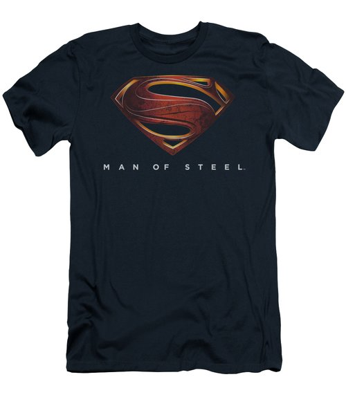 Man Of Steel - Mos New Logo Men's T-Shirt (Athletic Fit)