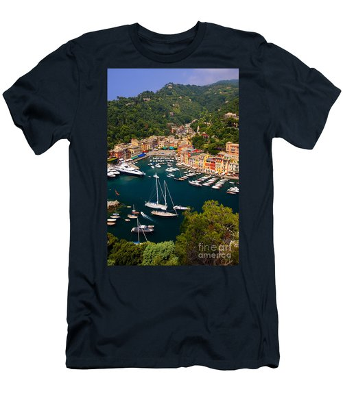 Men's T-Shirt (Athletic Fit) featuring the photograph Portofino by Brian Jannsen