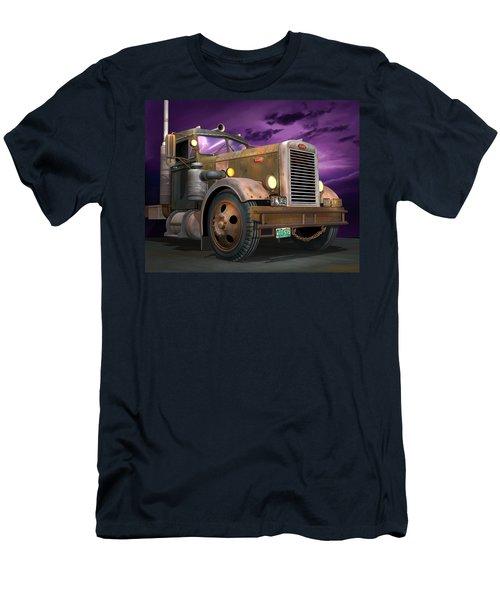 Ready 2 Duel Men's T-Shirt (Slim Fit) by Stuart Swartz
