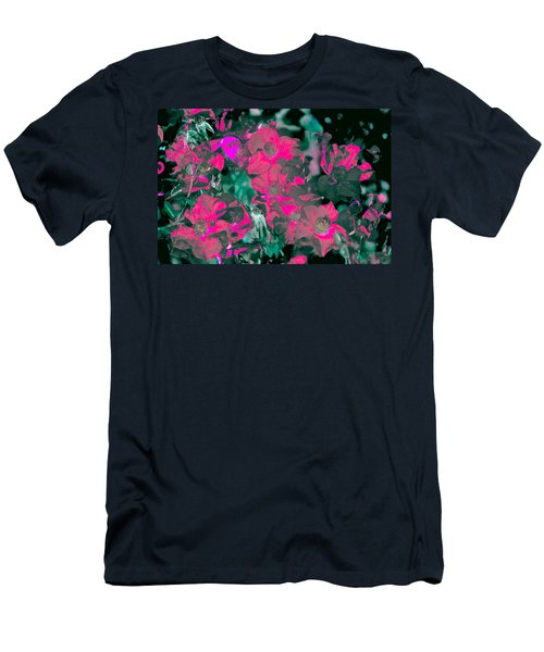 Rose 72 Men's T-Shirt (Slim Fit) by Pamela Cooper