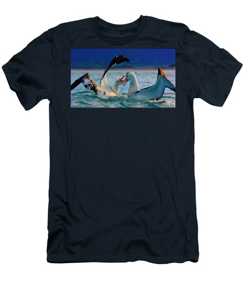 Wandering Albatross Men's T-Shirt (Slim Fit) by Amanda Stadther