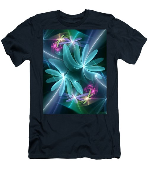 Ethereal Flowers Men's T-Shirt (Athletic Fit)