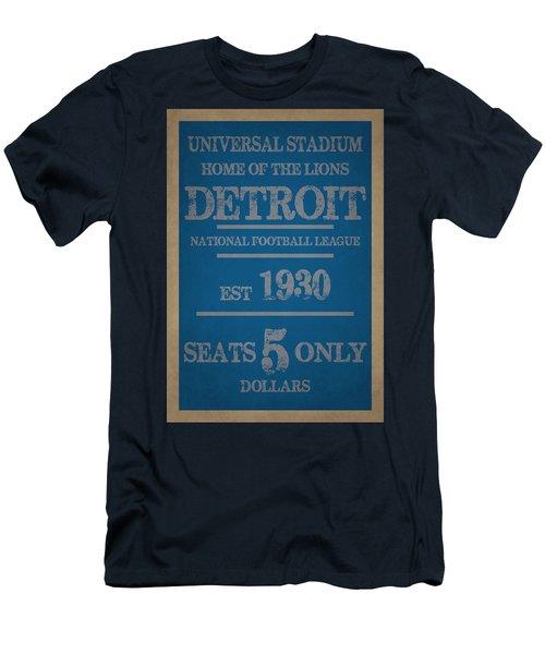 Detroit Lions Men's T-Shirt (Athletic Fit)