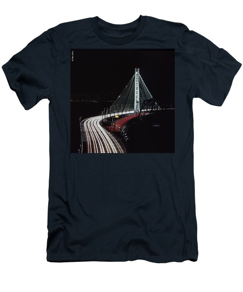 Oakland Bridge Men's T-Shirt (Athletic Fit)