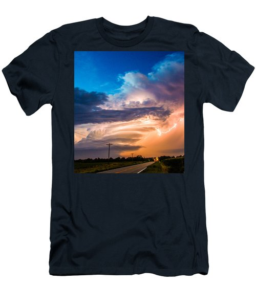 Wicked Good Nebraska Supercell Men's T-Shirt (Athletic Fit)