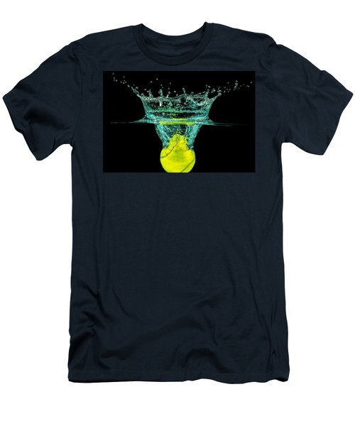 Tennis Ball Men's T-Shirt (Athletic Fit)