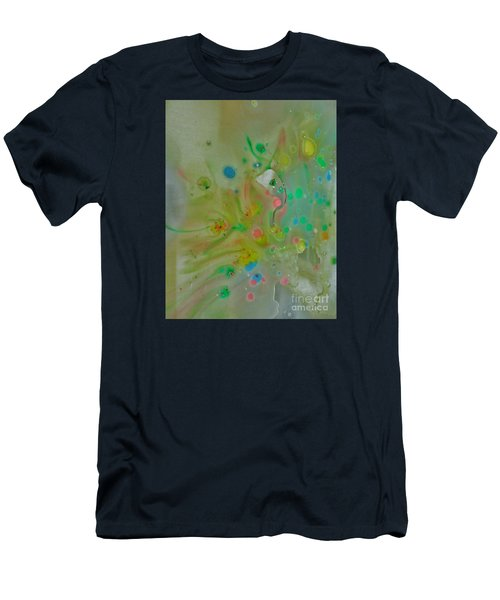 A Bird In Flight Men's T-Shirt (Slim Fit) by Robin Coaker