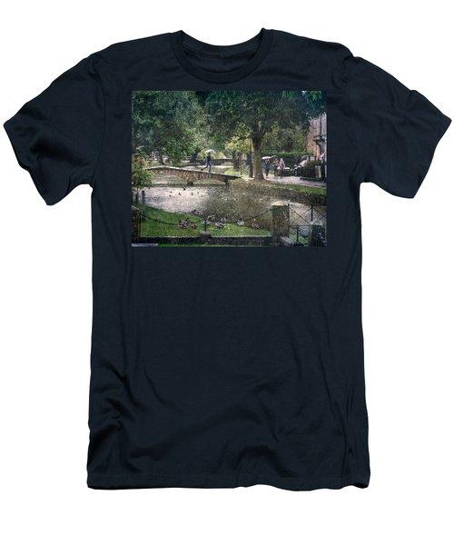A Bit Of Rain Men's T-Shirt (Athletic Fit)