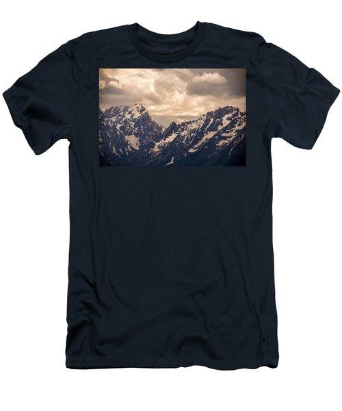 A Break Through Men's T-Shirt (Athletic Fit)