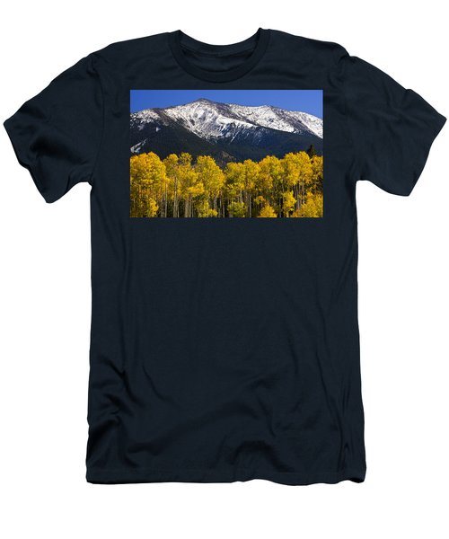 A Dusting Of Snow On The Peaks Men's T-Shirt (Athletic Fit)
