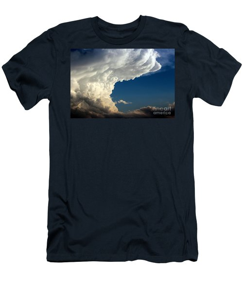 Men's T-Shirt (Slim Fit) featuring the photograph A Face In The Clouds by Barbara Chichester