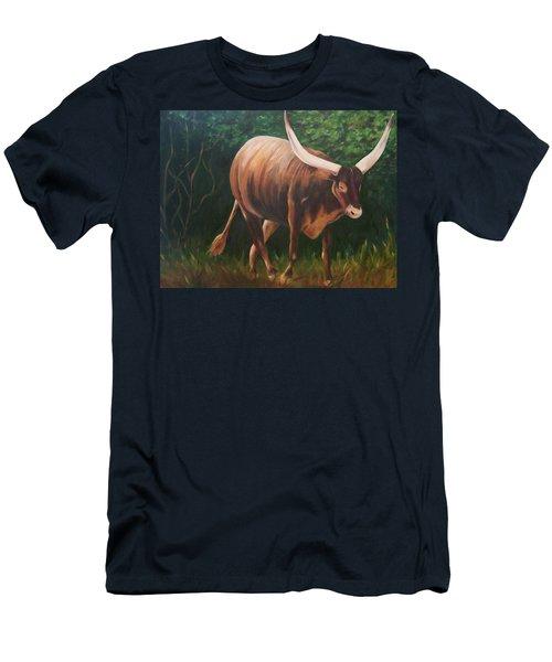 A Lot Of Bull, Watusi  Men's T-Shirt (Athletic Fit)