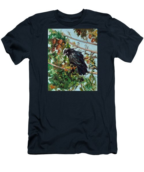 A Perch For Nevermore Men's T-Shirt (Athletic Fit)