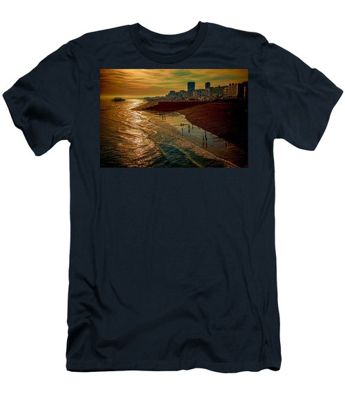 Men's T-Shirt (Slim Fit) featuring the photograph A September Evening In Brighton by Chris Lord
