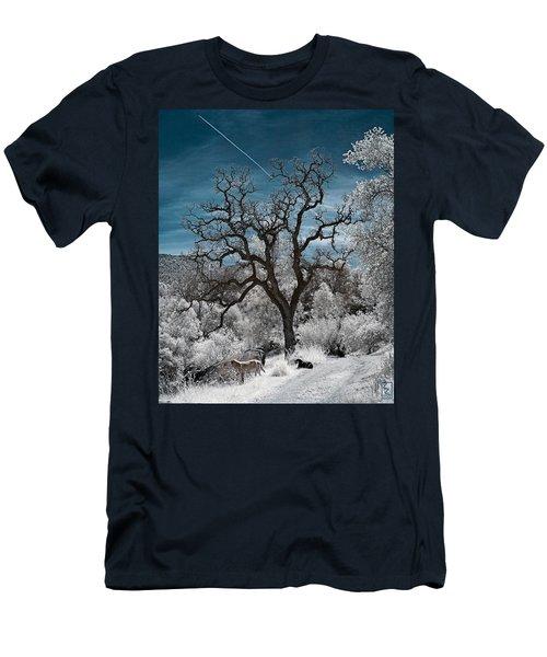A Trail Not Taken Men's T-Shirt (Athletic Fit)
