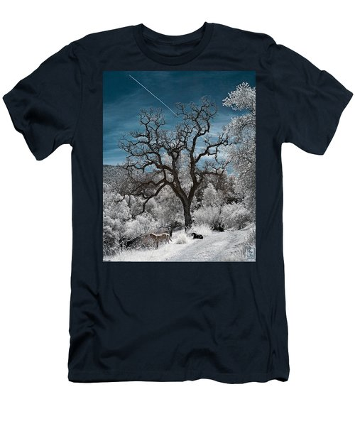 A Trail Not Taken Men's T-Shirt (Athletic Fit)