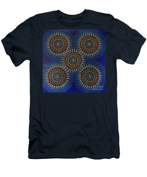 Aboriginal Inspirations 16 Men's T-Shirt (Slim Fit) by Mariusz Czajkowski