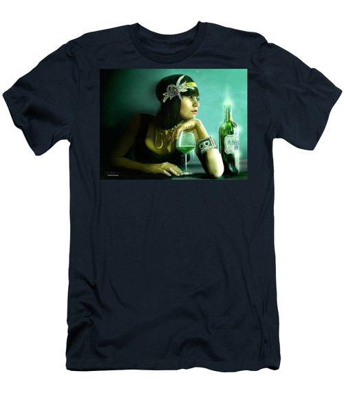 Absinthe Men's T-Shirt (Athletic Fit)