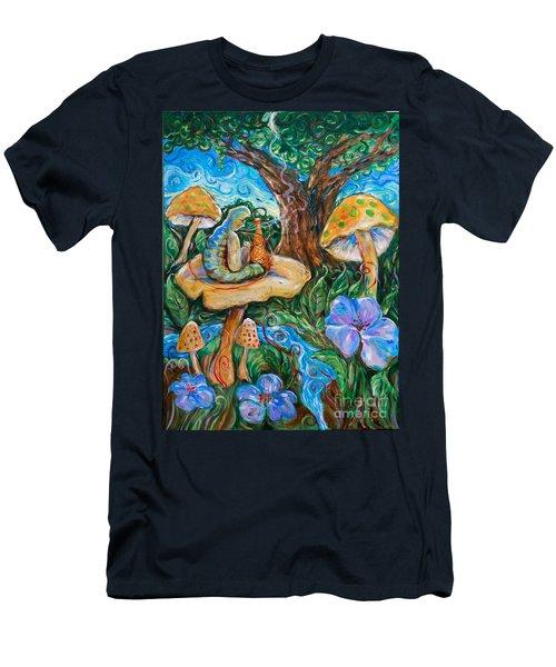 Absolem From Wonderland Men's T-Shirt (Athletic Fit)