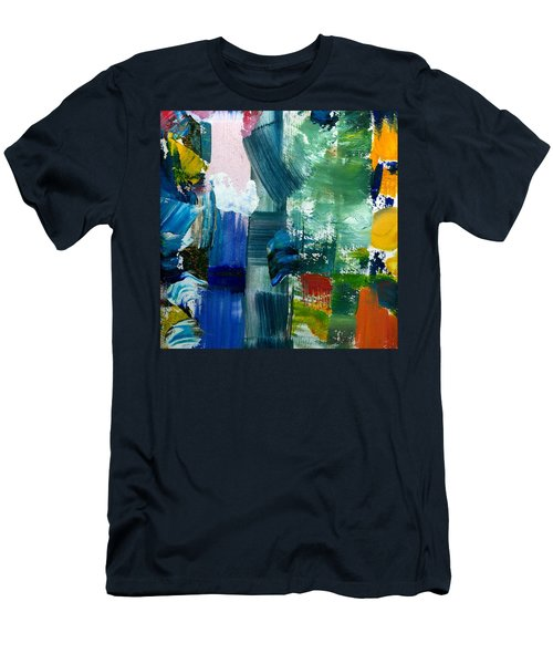 Abstract Color Relationships Lll Men's T-Shirt (Athletic Fit)