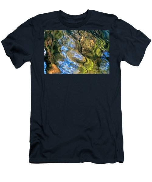 Abstract Of Nature Men's T-Shirt (Athletic Fit)