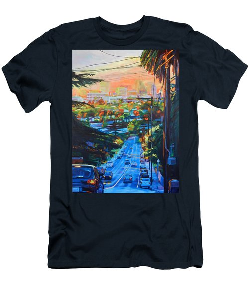 Towards The Light Men's T-Shirt (Slim Fit) by Bonnie Lambert