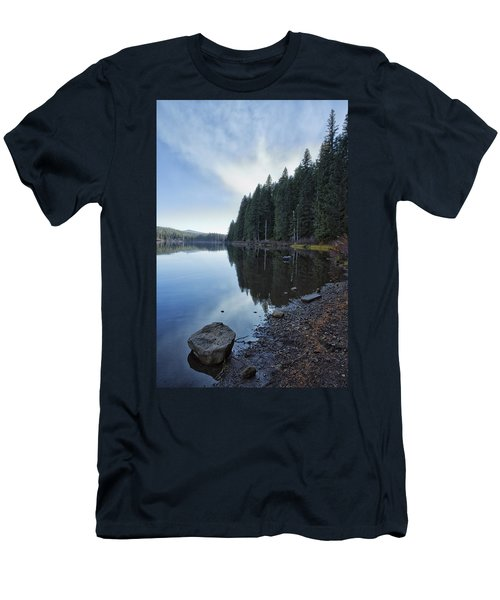 Afternoon At Clear Lake Men's T-Shirt (Athletic Fit)