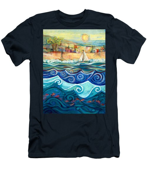 Afternoon Sail Men's T-Shirt (Athletic Fit)