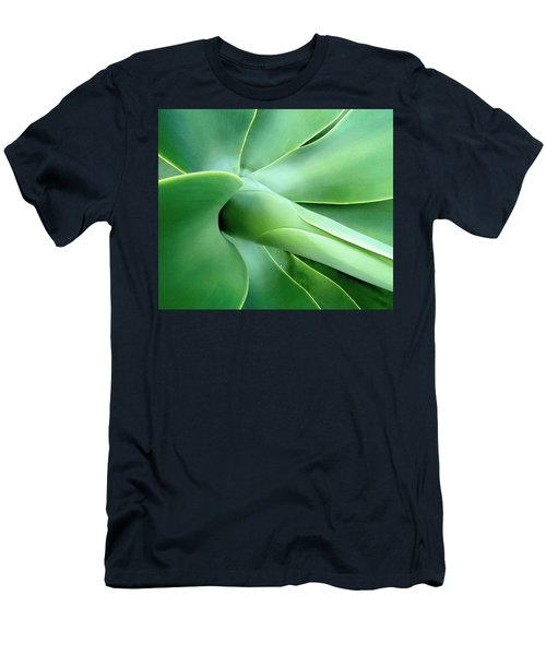Agave Heart Men's T-Shirt (Slim Fit) by Peter Mooyman