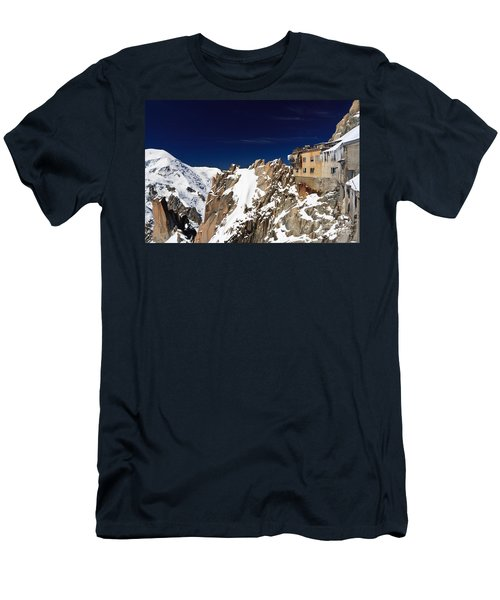 Aiguille Du Midi -  Mont Blanc Massif Men's T-Shirt (Athletic Fit)