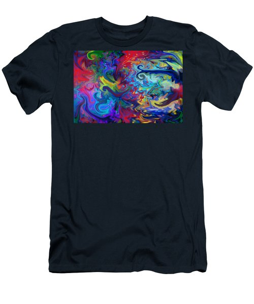 Men's T-Shirt (Slim Fit) featuring the digital art Aladdin's Lamp by Peggy Collins
