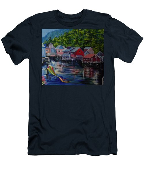 Alaska. Ketchikan Men's T-Shirt (Athletic Fit)