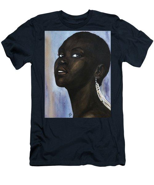 Alek Wek Men's T-Shirt (Athletic Fit)