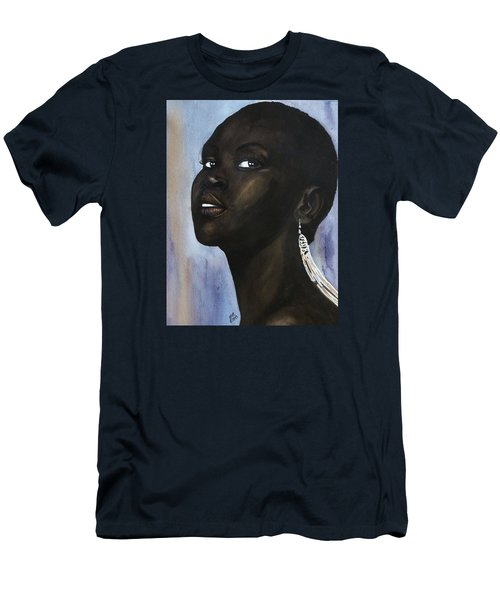 Alek Wek Men's T-Shirt (Athletic Fit)