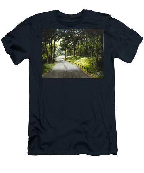 Along The Way Men's T-Shirt (Athletic Fit)