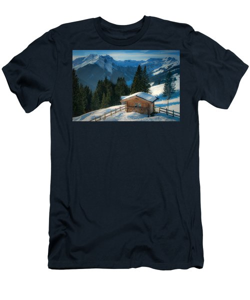 Alpine View Men's T-Shirt (Athletic Fit)