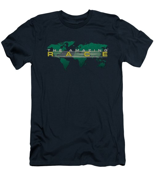 Amazing Race - Around The World Men's T-Shirt (Athletic Fit)