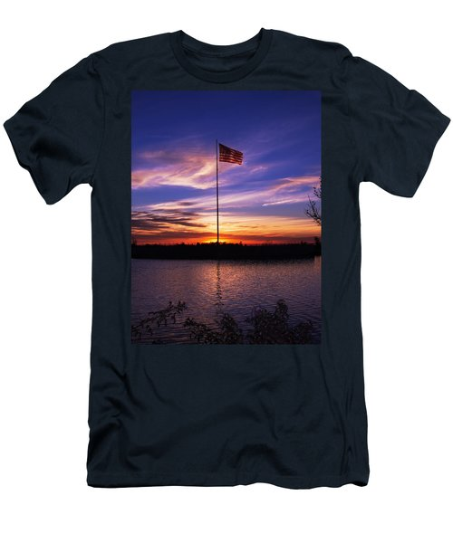 America The Beautiful Men's T-Shirt (Athletic Fit)