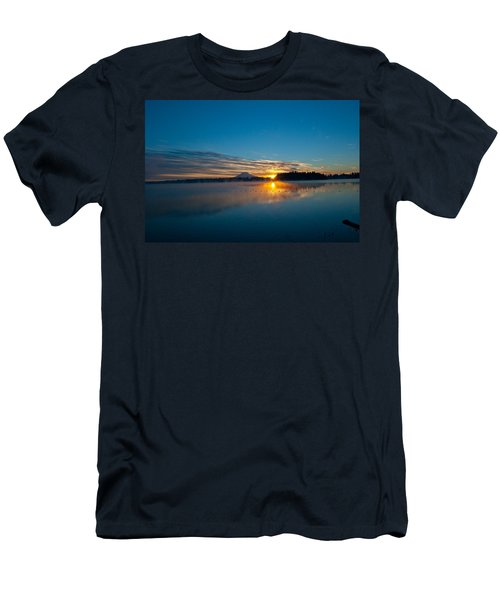 American Lake Sunrise Men's T-Shirt (Athletic Fit)
