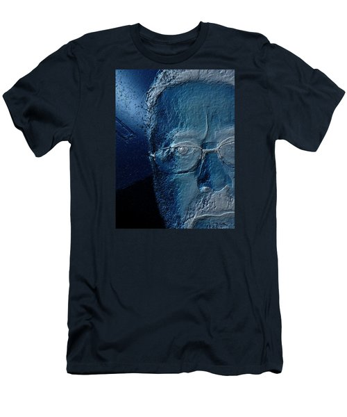 Amiblue Men's T-Shirt (Slim Fit) by Jeff Iverson