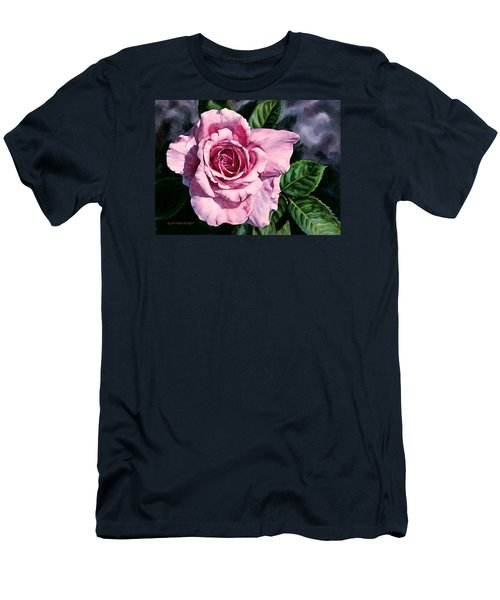 Amoure Men's T-Shirt (Slim Fit) by Lynda Hoffman-Snodgrass