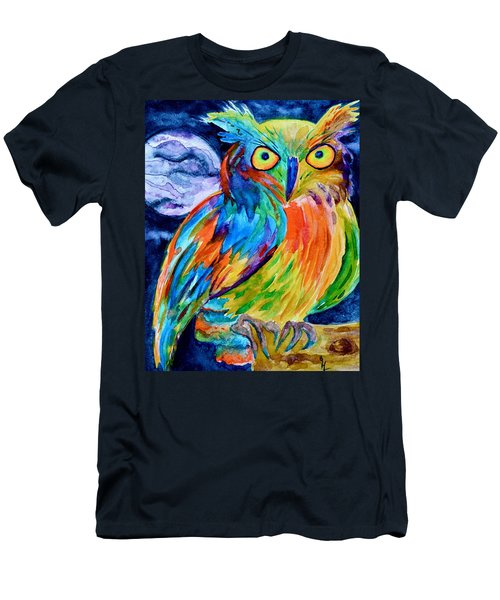Ampersand Owl Men's T-Shirt (Athletic Fit)
