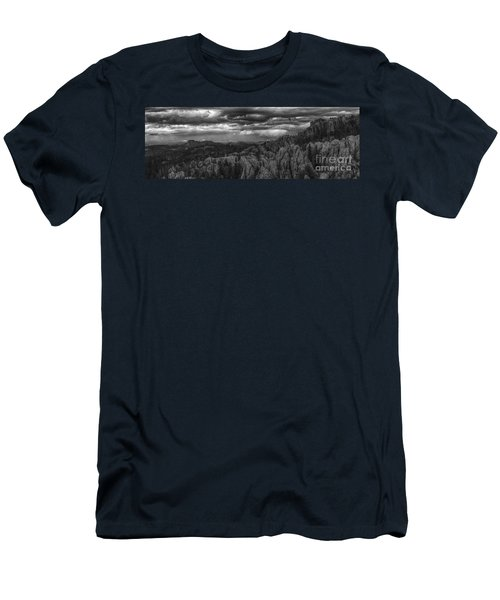 An Incoming Storm Over The Black Hills Of South Dakota Men's T-Shirt (Athletic Fit)