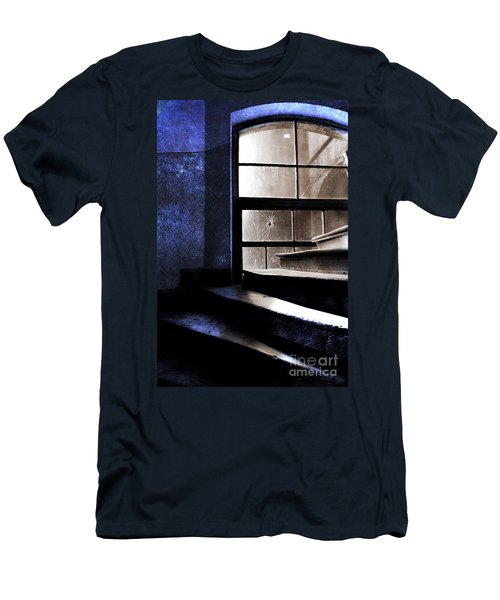 An Old Stairs And The Broken Window Men's T-Shirt (Athletic Fit)