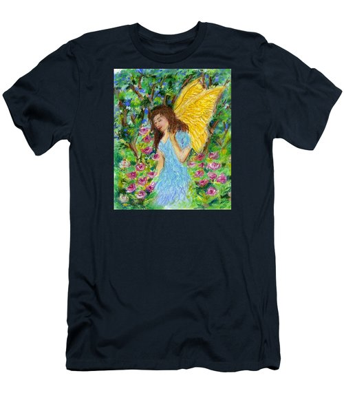Angel Of The Garden Men's T-Shirt (Athletic Fit)