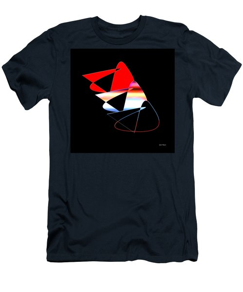 Men's T-Shirt (Athletic Fit) featuring the digital art Angry Birds by Gunter Nezhoda