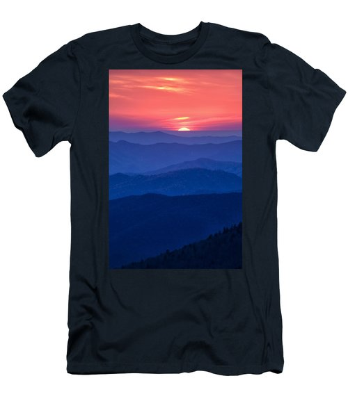 Another Day Ends Men's T-Shirt (Athletic Fit)