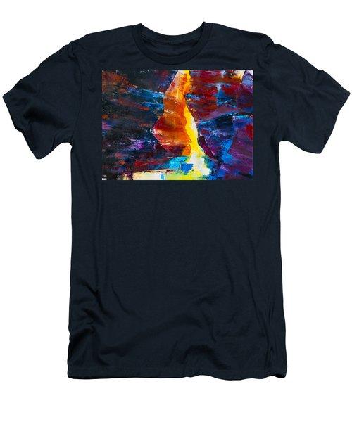 Antelope Canyon Light Men's T-Shirt (Athletic Fit)